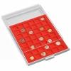 Graue Münzenboxen