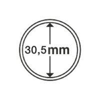 Münzkapseln Innendurchmesser 30,5 mm