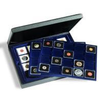 Münzkassette PRESIDIO TRIO für 60 QUADRUM-Münzkapseln und Münzrähmchen (50 x 50 mm)