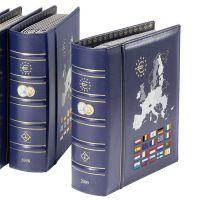 Münzalbum VISTA, Euro-Jahrgang 2014, inkl. Schutzkassette, blau