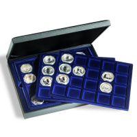Münzkassette PRESIDIO TRIO für 60 Münzen oder Münzkapseln bis 48 mm Ø