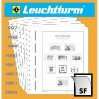 LEUCHTTURM SF-Nachtrag Bundesrepublik Deutschland Zusammendrucke 2015