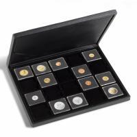 Münzkassette PRESIDIO für 20 QUADRUM-Münzkapseln oder Münzrähmchen (50 x 50 mm)