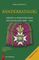 Bänderkatalog, Orden & Ehrenzeichen Deutschland 1800-1945