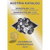 ANK Österreich Münzkatalog 2019 - Münzen ab 1745, Banknoten ab 1759 - NEU! Mit Goldmünzen Maria Theresia