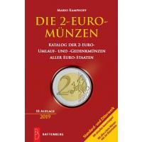 Mario Kamphoff,  Die 2-Euro-Münzen 10. Auflage 2019