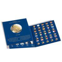 Münzalbum PRESSO, Euro-Collection für 2-Euro-Münzen 10 Jahre WWU